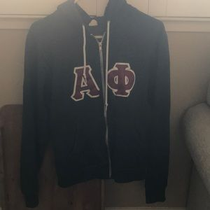 American Apparel Alpha Phi Jacket